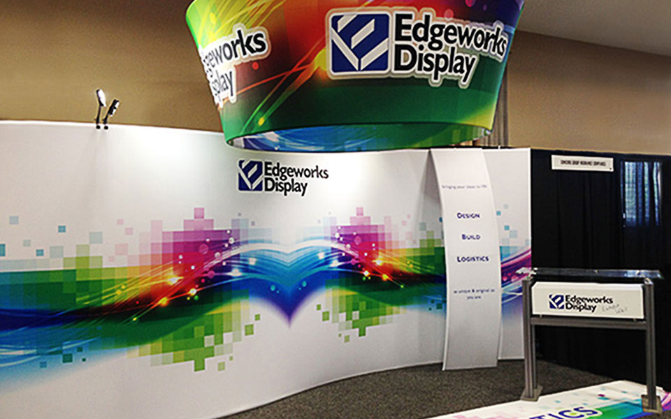 Portable Exhibition Quotes : Edgeworks display vermont custom trade show booths and